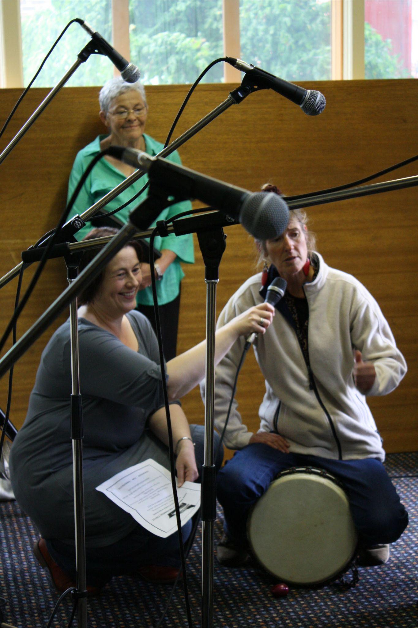 Fiona interviews Diane