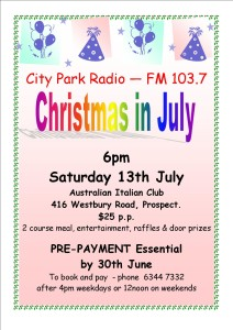 Christmas in July 13